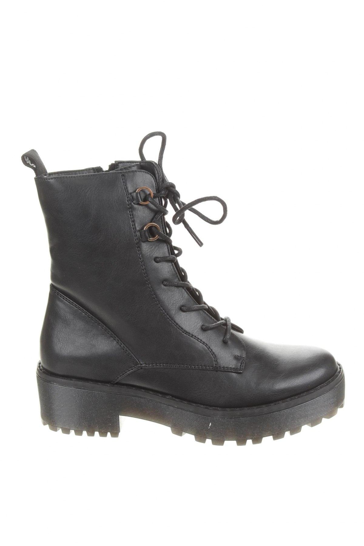 Dámské boty  Even&Odd, Velikost 37, Barva Černá, Eko kůže, Cena  840,00Kč