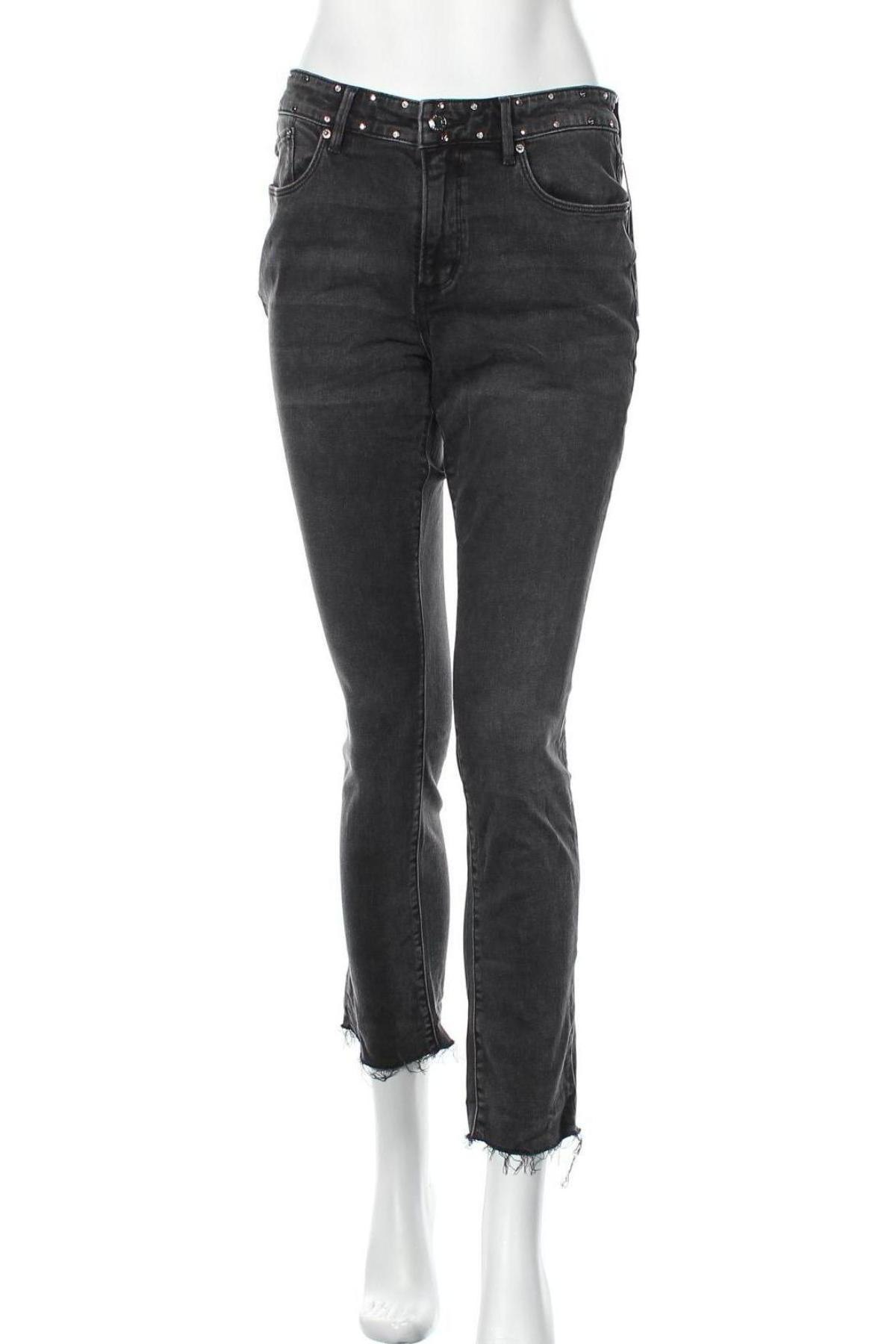 Дамски дънки S.Oliver, Размер M, Цвят Сив, 98% памук, 2% еластан, Цена 58,50лв.
