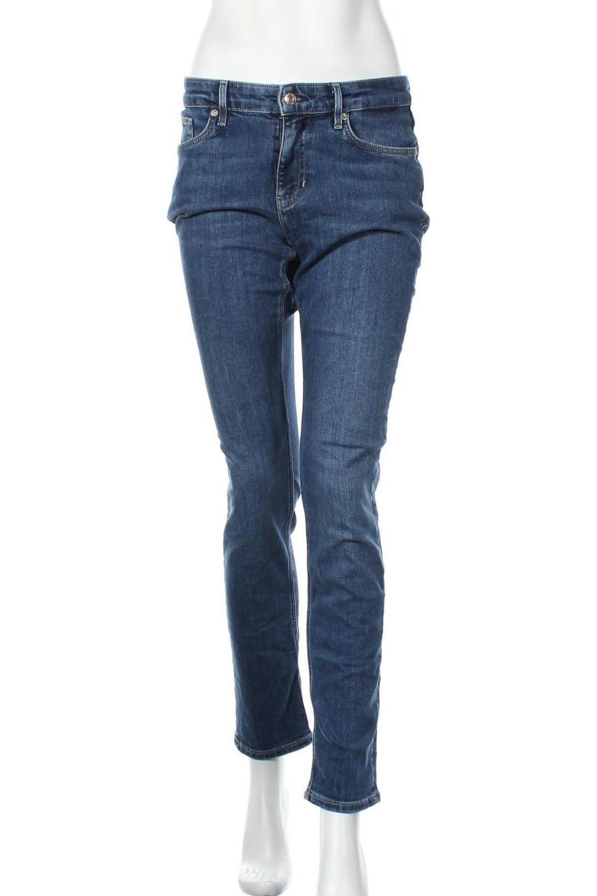 Дамски дънки S.Oliver, Размер S, Цвят Син, 82% памук, 17% полиестер, 1% еластан, Цена 21,00лв.