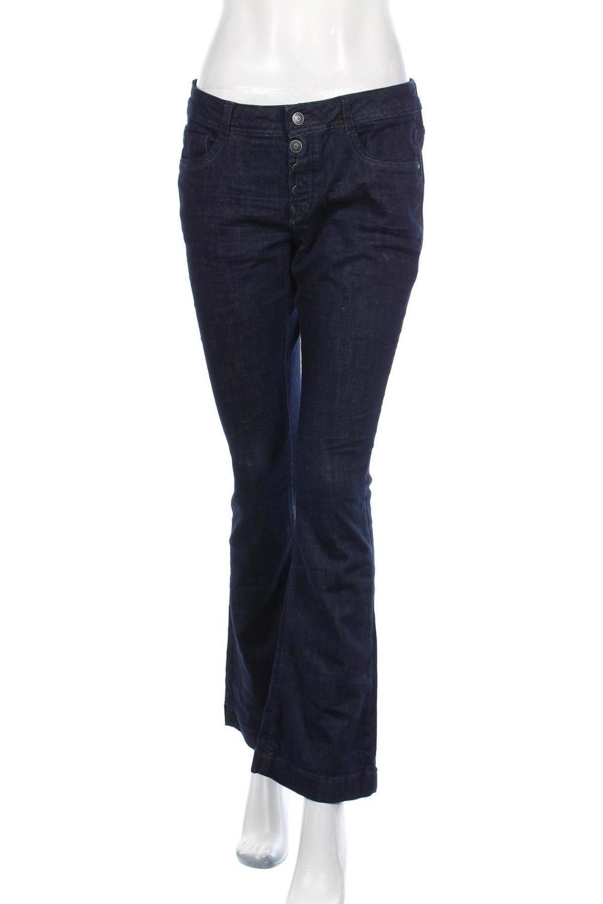 Дамски дънки S.Oliver, Размер M, Цвят Син, 98% памук, 2% еластан, Цена 19,32лв.