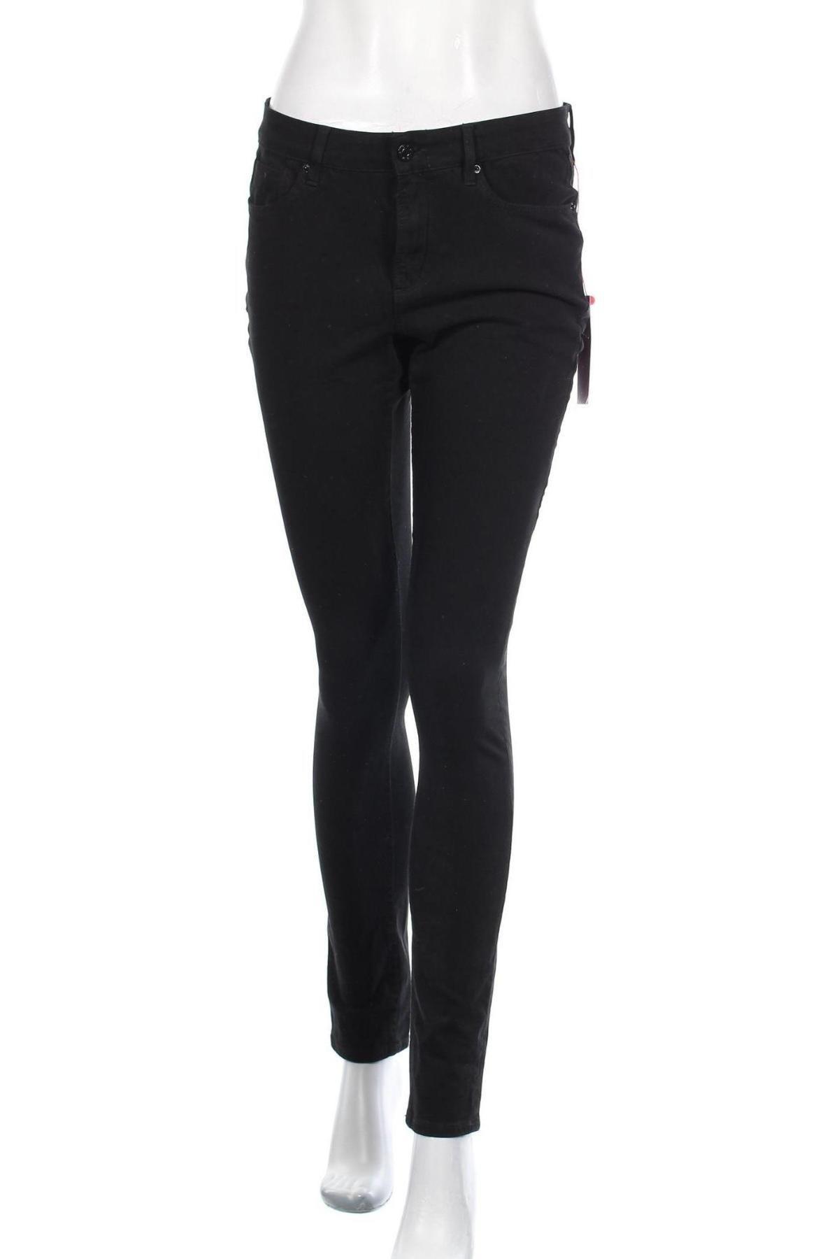 Дамски дънки S.Oliver, Размер M, Цвят Черен, Цена 61,50лв.