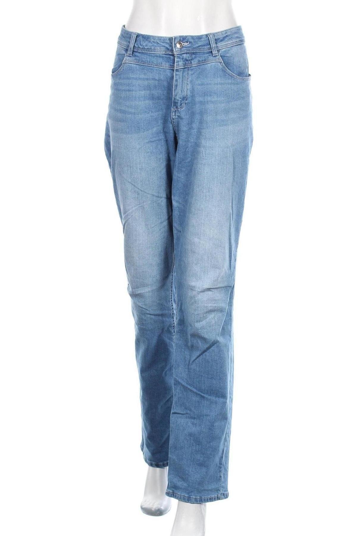 Дамски дънки S.Oliver, Размер XL, Цвят Син, Цена 69,00лв.