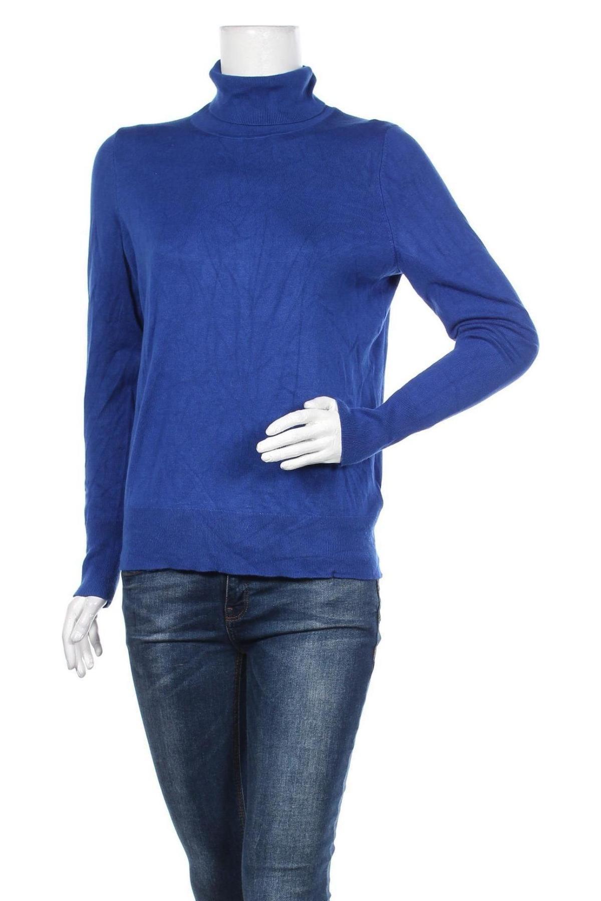 Дамски пуловер Christian Berg, Размер M, Цвят Син, 75% вискоза, 25% полиамид, Цена 57,00лв.
