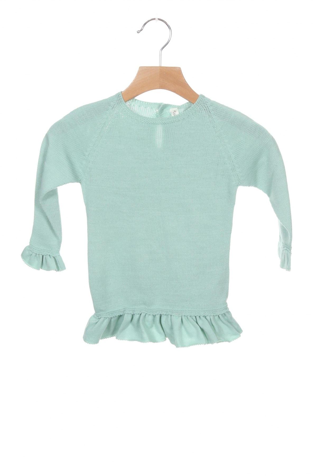 Детска рокля Lola Palacios, Размер 9-12m/ 74-80 см, Цвят Син, Акрил, Цена 16,00лв.