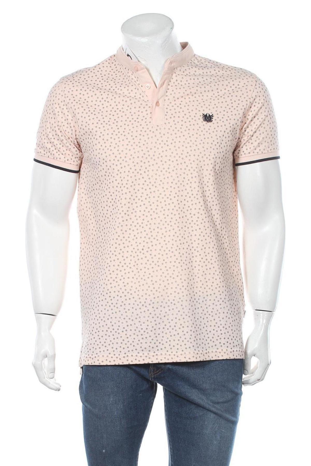 Мъжка тениска Bendorff, Размер M, Цвят Розов, Памук, Цена 21,17лв.