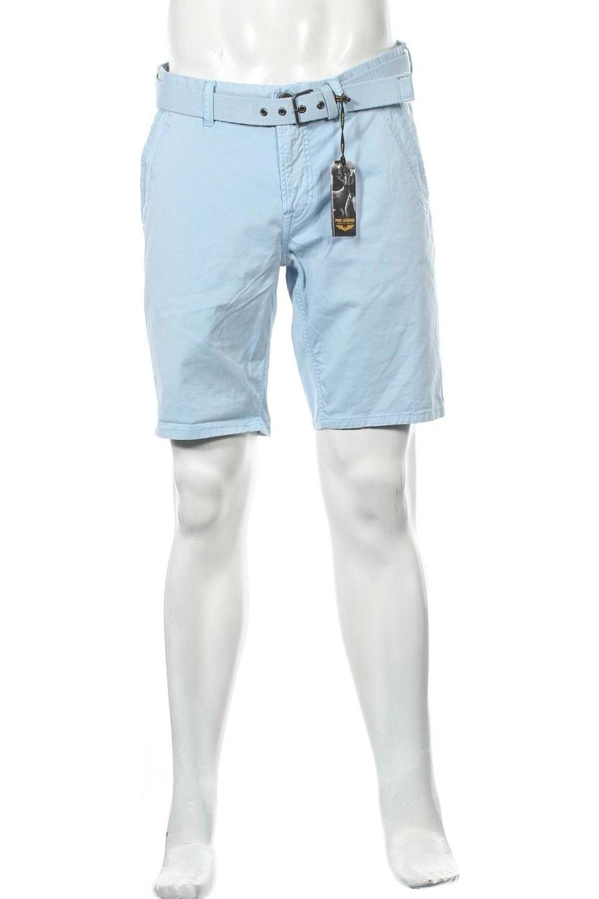 Мъжки къс панталон Pme Legend, Размер M, Цвят Син, 97% памук, 3% еластан, Цена 20,81лв.