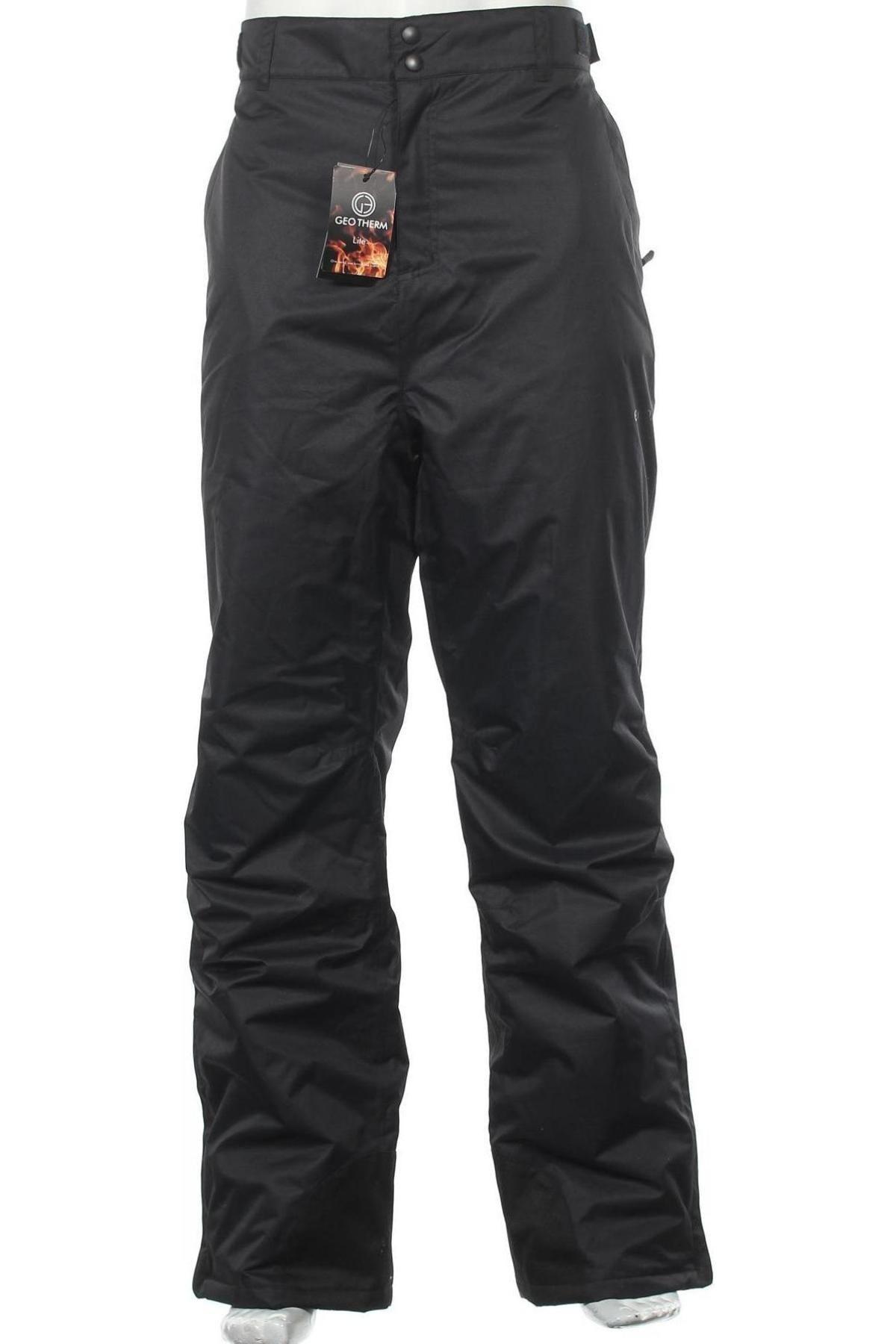 Мъжки панталон за зимни спортове, Размер XXL, Цвят Черен, Полиестер, Цена 34,51лв.