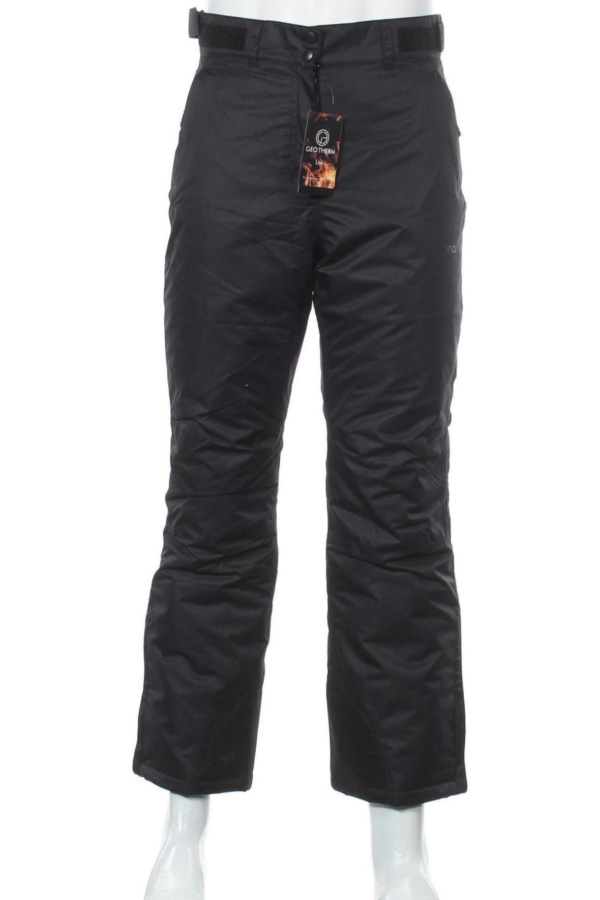 Мъжки панталон за зимни спортове, Размер S, Цвят Черен, Полиестер, Цена 34,51лв.