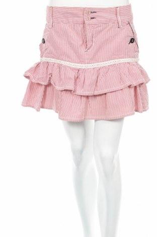 Пола Playlife, Размер M, Цвят Червен, 100% памук, Цена 11,04лв.