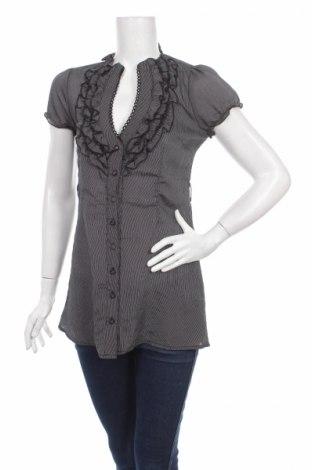 Дамска риза Derek Heart, Размер M, Цвят Черен, Цена 5,75лв.