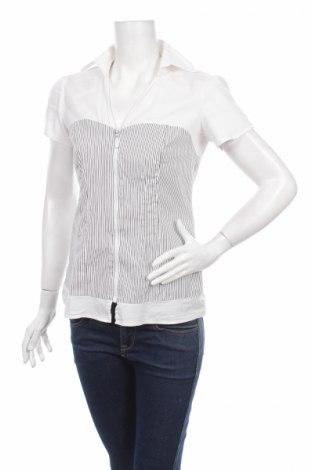 Дамска риза X-Mail, Размер S, Цвят Бял, 97% памук, 3% еластан, Цена 4,83лв.
