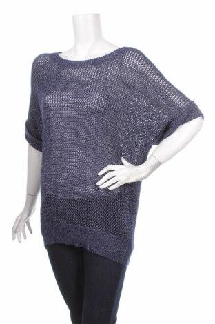 Дамски пуловер Chico's, Размер S, Цвят Син, 73% акрил, 27% полиестер, Цена 6,84лв.