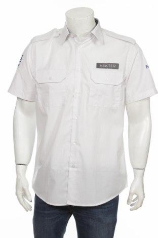 Мъжка риза Kwintet, Размер M, Цвят Бял, 55% памук, 45% полиестер, Цена 3,60лв.