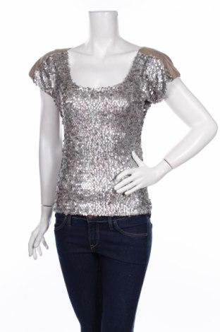 Дамска блуза Ana Alcazar, Размер XS, Цвят Сив, 95% полиестер, 5% еластан, Цена 9,30лв.