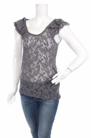 Γυναικεία μπλούζα Ann Christine, Μέγεθος M, Χρώμα Γκρί, Πολυαμίδη, Τιμή 2,94€