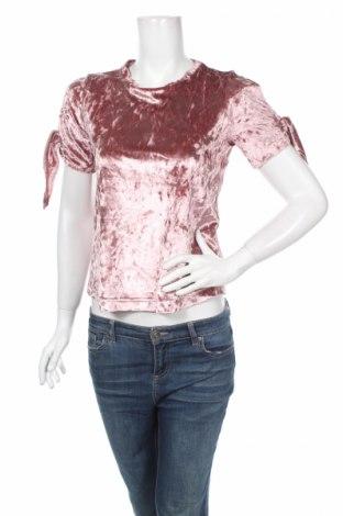 Дамска блуза Primark, Размер XS, Цвят Розов, 95% полиестер, 5% еластан, Цена 7,20лв.
