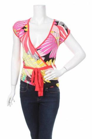 Дамска блуза Steps, Размер M, Цвят Многоцветен, 96% вискоза, 4% еластан, Цена 4,83лв.