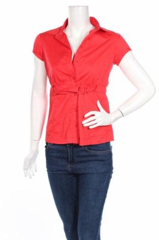 Dámska košeľa  Ann Christine, Veľkosť S, Farba Červená, 62% bavlna, 33% polyamide, 5% elastan, Cena  2,20€