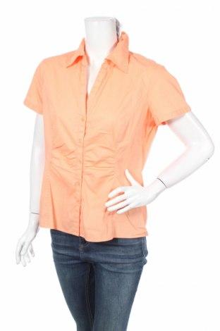 Дамска риза Comma,, Размер L, Цвят Оранжев, Цена 11,40лв.