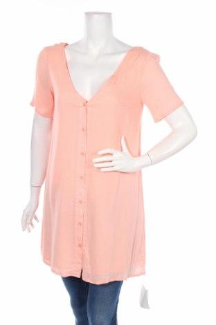 Дамска риза Glamorous, Размер S, Цвят Розов, Вискоза, Цена 16,58лв.