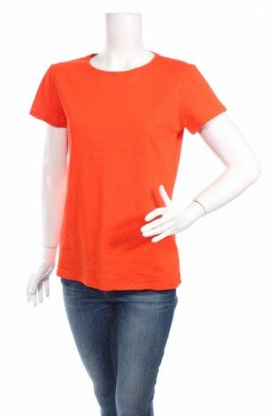 Дамска тениска Primark, Размер XL, Цвят Оранжев, 95% памук, 5% еластан, Цена 5,70лв.