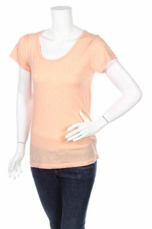 Дамска тениска Primark, Размер S, Цвят Оранжев, 65% полиестер, 35% памук, Цена 8,00лв.