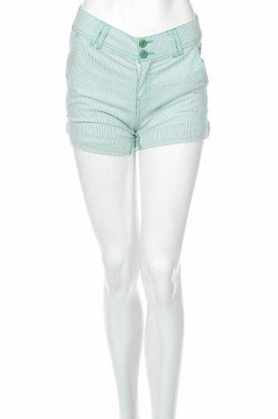 Дамски къс панталон Darling, Размер S, Цвят Бял, 85% памук, 12% полиамид, 3% еластан, Цена 7,18лв.