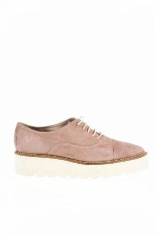 Дамски обувки Alberto Zago, Размер 37, Цвят Розов, Естествен велур, Цена 41,00лв.