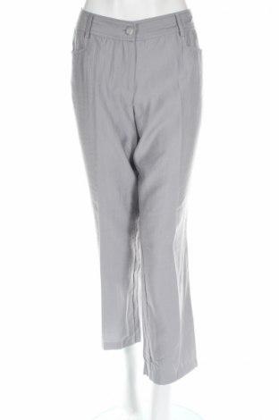 Дамски панталон Alessa W., Размер L, Цвят Сив, 56% полиестер, 30% вискоза, 14% полиамид, Цена 7,80лв.