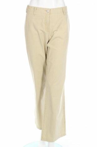 Дамски панталон Brax, Размер M, Цвят Бежов, Памук, Цена 5,12лв.