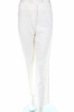 Дамски панталон F&F, Размер XS, Цвят Бял, 55% лен, 45% вискоза, Цена 5,07лв.