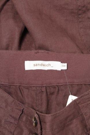 Γυναικείο παντελόνι Sandwich_