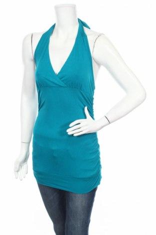 Дамски потник Aniston, Размер XS, Цвят Син, 95% памук, 5% еластан, Цена 3,04лв.