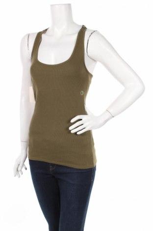 Дамски потник New York & Company, Размер M, Цвят Зелен, 95% памук, 5% еластан, Цена 6,60лв.