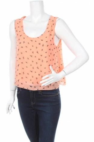 Γυναικείο αμάνικο μπλουζάκι Poetry, Μέγεθος XL, Χρώμα Πορτοκαλί, 100% πολυεστέρας, Τιμή 4,79€