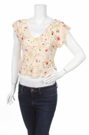 Γυναικείο αμάνικο μπλουζάκι Rocha.John Rocha, Μέγεθος S, Χρώμα Εκρού, 100% μετάξι, Τιμή 8,25€