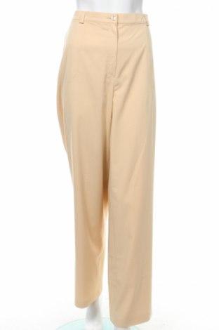 Дамски спортен панталон Gelco, Размер XL, Цвят Бежов, 63% вискоза, 34% полиестер, 3% еластан, Цена 12,00лв.