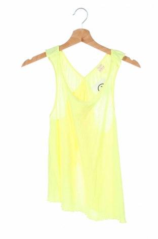Μπλουζάκι αμάνικο παιδικό Zara Kids, Μέγεθος 12-13y/ 158-164 εκ., Χρώμα Κίτρινο, Τιμή 4,76€