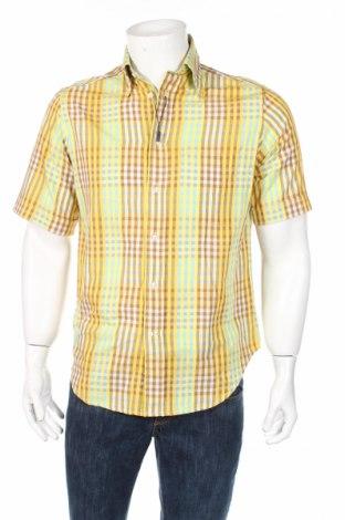 Ανδρικό πουκάμισο Cavaliere, Μέγεθος S, Χρώμα Πολύχρωμο, 80% βαμβάκι, 20% πολυεστέρας, Τιμή 4,19€