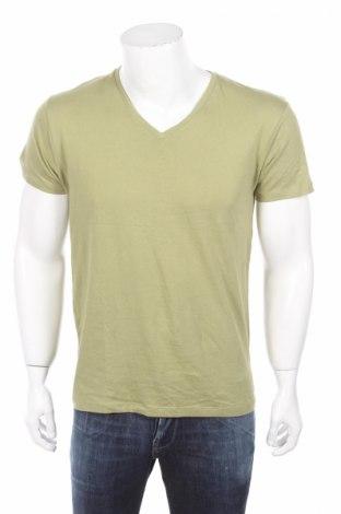 Мъжка тениска Primark, Размер S, Цвят Зелен, Памук, Цена 4,50лв.