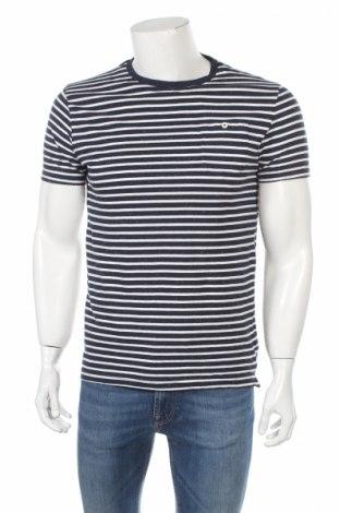 Pánské tričko  Soulcal & Co, Rozměr XL, Barva Modrá, 99% bavlna, 1% polyester, Cena  125,00Kč