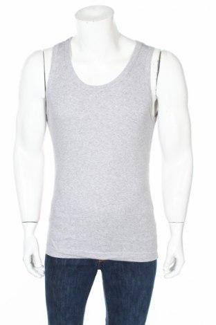 Мъжки потник Dolce & Gabbana Underwear, Размер M, Цвят Сив, 95% памук, 5% еластан, Цена 45,90лв.