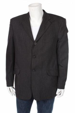 Ανδρικό σακάκι Berto Lucci, Μέγεθος L, Χρώμα Γκρί, Τιμή 16,49€