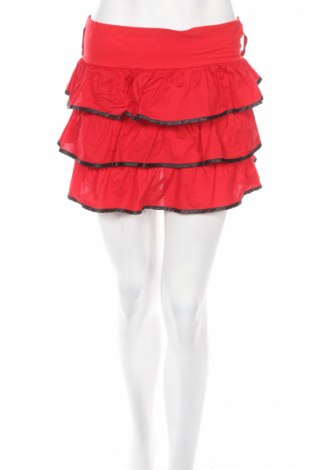 Пола, Размер XS, Цвят Червен, 95% памук, 5% еластан, Цена 5,00лв.