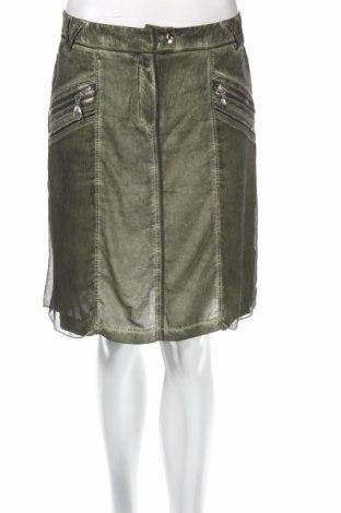 Пола Biba, Размер S, Цвят Зелен, Полиестер, Цена 10,00лв.