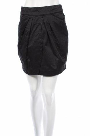 Пола H&M, Размер S, Цвят Черен, 50% памук, 40% полиестер, 10% полиамид, Цена 5,25лв.