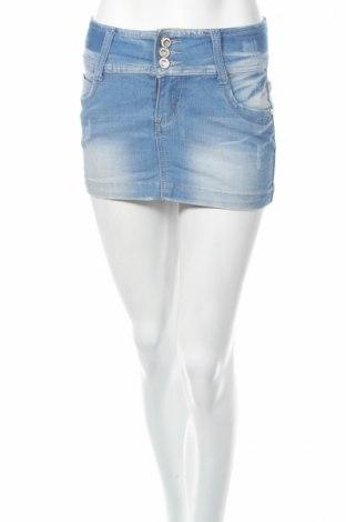 Пола Miss Grace, Размер S, Цвят Син, 95% памук, 5% еластан, Цена 6,25лв.
