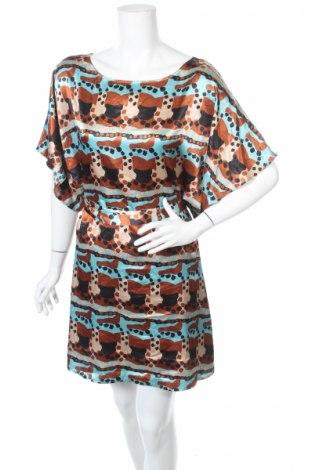 Šaty  Bcbg Max Azria, Veľkosť L, Farba Viacfarebná, 96% polyester, 4% elastan, Cena  22,68€