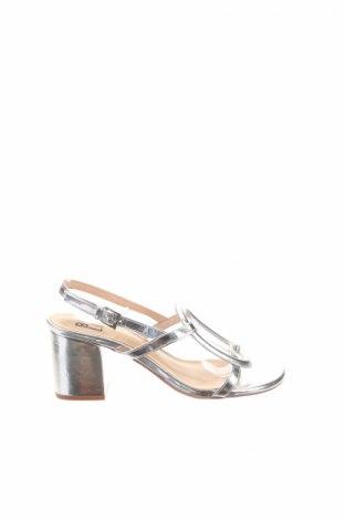 Sandále Bibi Lou, Veľkosť 36, Farba Strieborná, Eko koža , Cena  15,53€