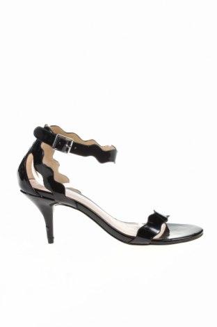 Sandale Chinese Laundry, Mărime 38, Culoare Negru, Piele ecologică, Preț 51,85 Lei